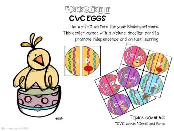 FREEBIE! cvc eggs
