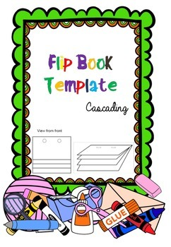 PDF Cascading Flip Book Template