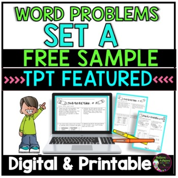 Word Problems- Set A FREEBIE