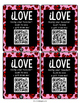 FREE Valentine's Day Cards with QR Codes