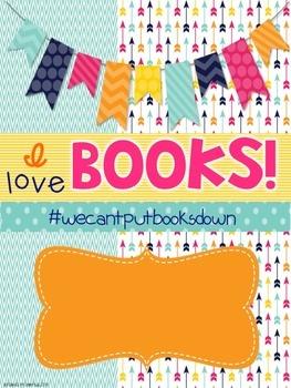FREEBIE #wecantputbooksdown Binder Cover and Book Wishlist Printable