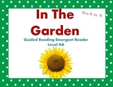 Guided Reading IN THE GARDEN