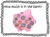 Counting coins and money FREEBIE How Much Money Is In The