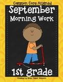 Morning Work Grade One SEPTEMBER - PRINT-N-GO!