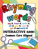 Rhyming Words - CVC Words