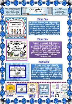 FREEBIES from an eBook Resource for Grades K-12