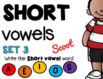 FREEBIE! Short Vowels Set 3