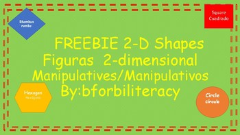 FREEBIEShapes_Manipulatives-Bilingual!