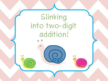 {FREEBIE}...Slinking Into Two Digit Addition