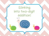 {FREEBIE}...Slinking Into Two Digit Addition
