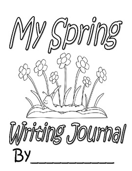 FREEBIE:Spring Writing Journal Cover & Paragraph Brainstorming Page