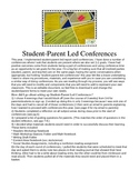 Student Led Report Card Conferences and Goal Setting