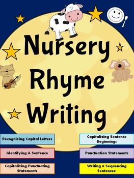 Nursery Rhyme Themed Writing