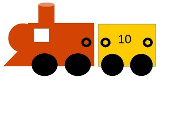 Skip Counting FREEBIE train skip count by 10s (skip counting)