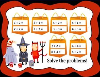 FREEBOO! Free Halloween Smartboard Activities - Maths Focus