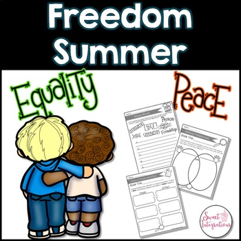 FREEDOM SUMMER BOOK STUDY AND GRAPHIC ORGANIZERS