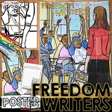 FREEDOM WRITERS COLLABORATIVE POSTER AND WRITING ACTIVITY