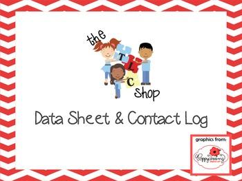 FREE! Data Sheet and Contact Log