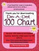 ***FREEEEE***  Do-A-Dot 100 Chart