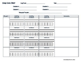 FREE**GROUP DATA SHEET FOR ANY ACTIVITY / THERAPY SESSION