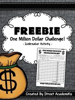 {FREE} One Million Dollar Challenge! [Icebreaker Activity]