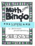 ***FREE***Math Bingo: Multiplication Samples