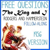 FREE:The King and I- Rodgers and Hammerstein- 1956 Movie Questions