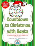 Countdown to Christmas with Santa - Sample {FREEbie}