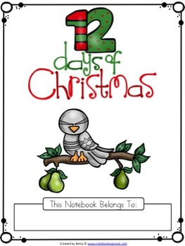 The 12 Days of Christmas Tracing Pages