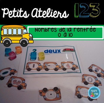 FRENCH 123 Center/ Atelier 123(Rentrée scolaire)