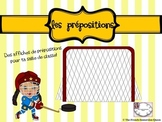 Prepositions Posters FRENCH