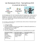 FRENCH 2018 NO PREP olympics PyeongChang Pyeong Chang research project