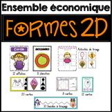 FRENCH 2D Shapes - les formes géométriques 2D