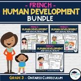 FRENCH - 3 Part Bundle - Grade 3: Human Development & Sexu
