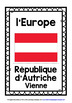 FRENCH - 60 EUROPEAN COUNTRIES, CAPTIALS, FLAGS POSTERS -