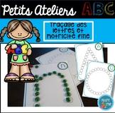 FRENCH ABC Dotted Mats/ Atelier de motricité fine (alphabet)
