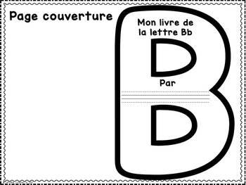 FRENCH ABC Interactive Notebook - Bb / Mon abécédaire interactif -Bb