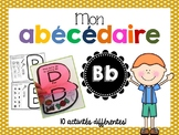 FRENCH ABC Interactive Notebook - Bb / Mon abécédaire interactif -Bb