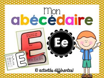 FRENCH ABC Interactive Notebook - Ee / Mon abécédaire interactif -Ee
