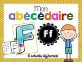FRENCH ABC Interactive Notebook - Ff / Mon abécédaire interactif -Ff