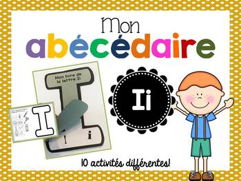 FRENCH ABC Interactive Notebook - Ii / Mon abécédaire interactif -Ii