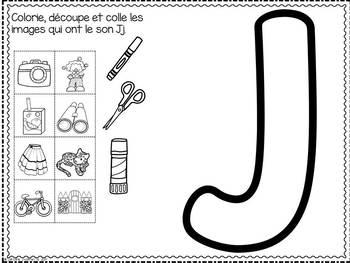 FRENCH ABC Interactive Notebook - Jj / Mon abécédaire interactif -Jj