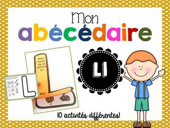 FRENCH ABC Interactive Notebook - Ll / Mon abécédaire interactif -Ll