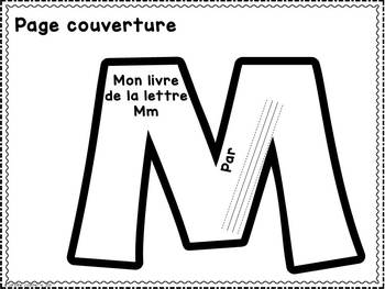 FRENCH ABC Interactive Notebook - Mm / Mon abécédaire interactif -Mm