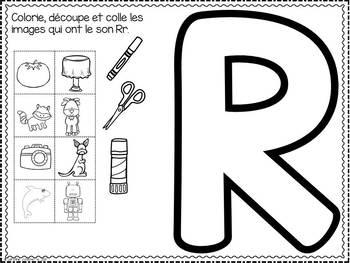 FRENCH ABC Interactive Notebook - Rr / Mon abécédaire interactif -Rr