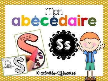 FRENCH ABC Interactive Notebook - Ss / Mon abécédaire interactif -Ss
