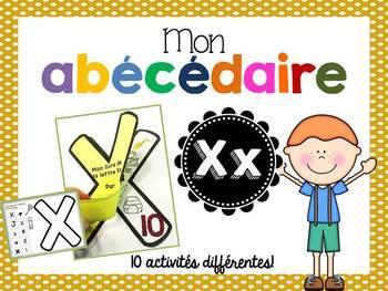 FRENCH ABC Interactive Notebook - Xx / Mon abécédaire interactif -Xx