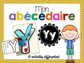 FRENCH ABC Interactive Notebook - Yy / Mon abécédaire interactif -Yy