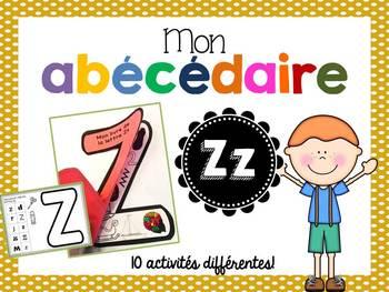 FRENCH ABC Interactive Notebook - Zz / Mon abécédaire interactif -Zz