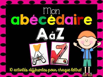 FRENCH ABC Interactive Notebooks/Mon abécédaire interactif